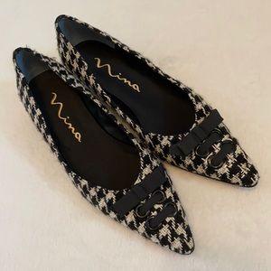 Nina Keesha Tweed Houndstooth Shoe